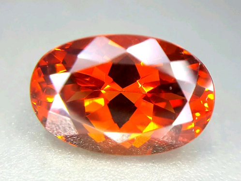 8.28 ct Natural Spessartine garnet from Namibia