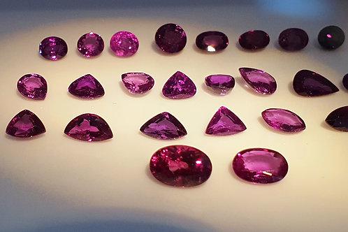 Wholesale Lot 28.58 carat Natural Color Change Garnet loose gemstone