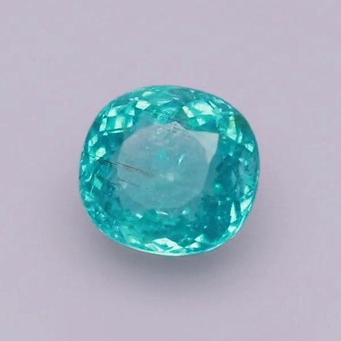 US$ 2200 P/C, GIA 5.2 Ct Natural Paraiba Tourmaline neon blue from Mozambique