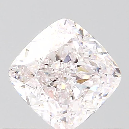 0.45 carat VVS1 GIA certified Faint Pink Diamond cushion cut