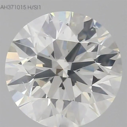 0.96 CT, H COLOR, SI1,  LOOSE DIAMOND, GIA CERTIFIED  3EX, NON,