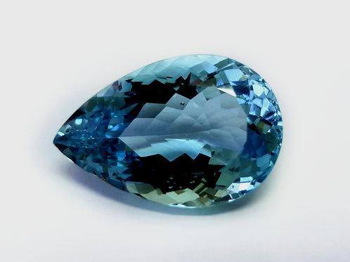 46.08 ct Natural Aquamarine from Brazil