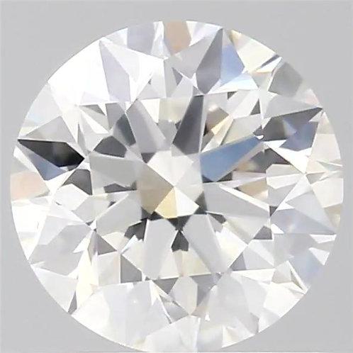 GIA認定ルースダイヤモンド、1.0 CT、Hカラー、SI1