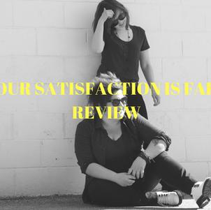 YOUR SATISFACTION IS FAKE NO HUGS NO/HUGS REVIEW PRESS INFO SONG ALTERNATIVE ROCK BOSTON