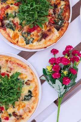GF You Wanna Pizza This? Veg_ Dhs 55, Ch