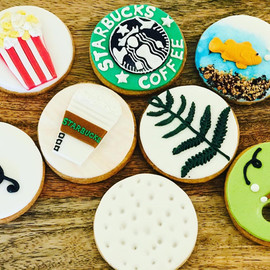Assorted Themed Cookies