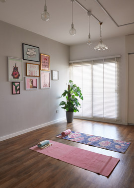 upstairs- activiteas room and yoga room