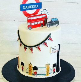 London-themed Cake