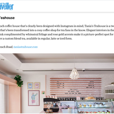 """CN Traveller- """"Dubai's Coolest Cafes"""" September 2020"""
