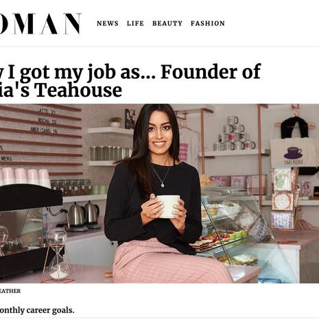 "Emirates Woman- ""Founder of Tania's Teahouse"" Tania Lodi August 2019"