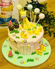 Animal-themed Cake