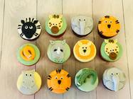 Animal-themed Cupcakes