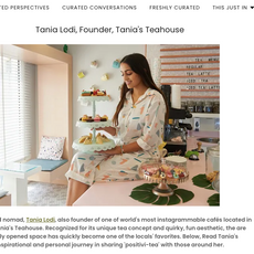 "Curated Now- ""Meet the Regions Curated Innovators: Tania Lodi"" October 2020"