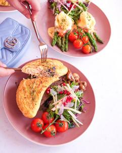 Brekkie- Omelette It Be & Smoked Salmon