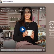 "Dubai Eye: Business Breakfast Show- ""Covid-19 Outbreak Effect on Tania's Teahouse"" March 2020"