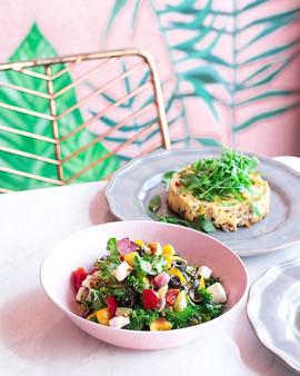 LC Veggie Gateau & Greek Salad_Dhs 35 (1