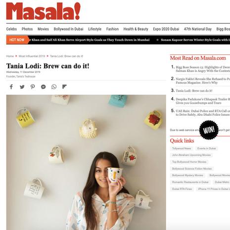 Masala- December 2019