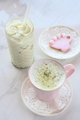 Matcha Latte_Dhs 27 + Iced Matcha Latte_