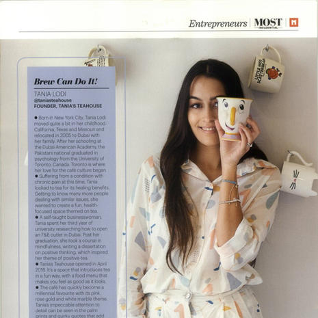 "Masala - ""Most Influencial South Asian Women"" Tania Lodi-December 2019"