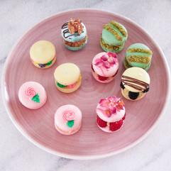 Dessert- Mon Cherie Macarons & Fancy-Pan