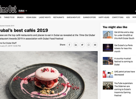 TIME OUT- Best Cafes 2019