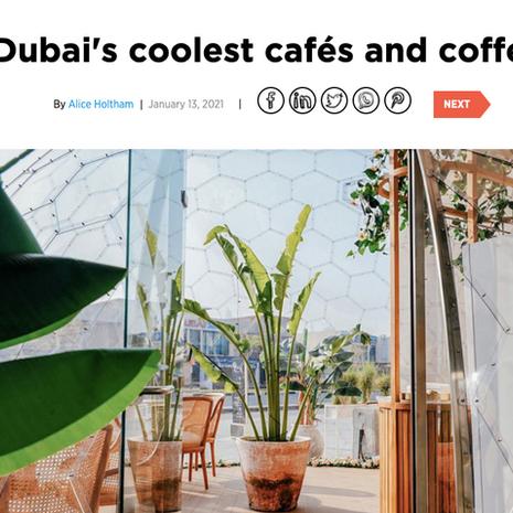 CN Traveller- January 2021 (20 of Dubai's Coolest Cafes & Coffee Shops)