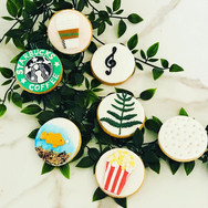 Assorted Customized Cupcakes