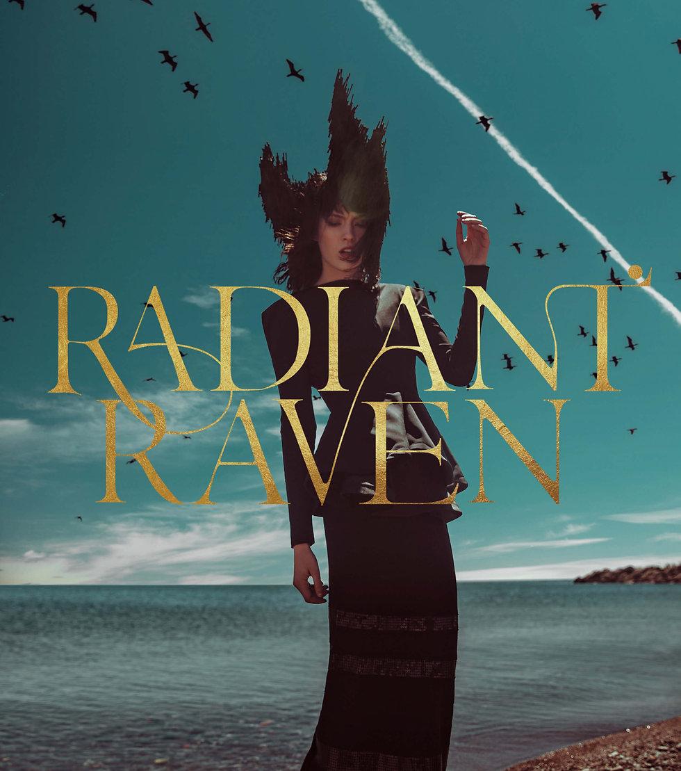 Radiant Raven Branding Design of Studio Linear