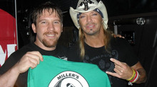 Hanging out with Bret Michaels (Poison)