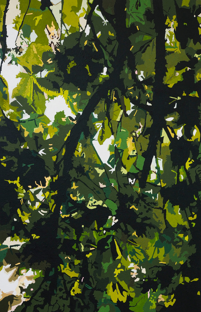 'Through the trees' #3 Celandine