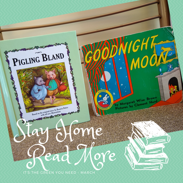 Stay Home Read More Baby Box