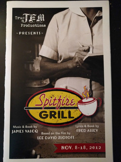 TrueJEM's Debut-Spitfire Grill 2012