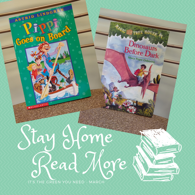 Stay Home Read More Kid Box