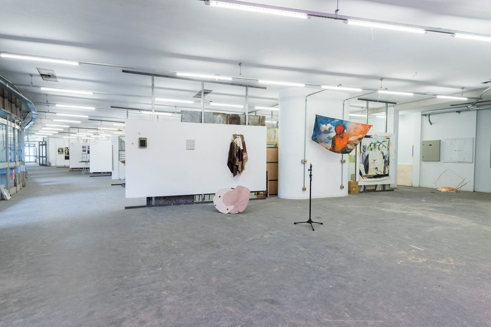 Installation View at Pivô Residence