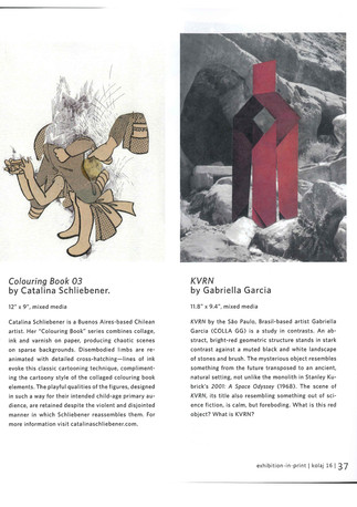 Collagism | Strathroy Caradoc Museum | Text by Christian Julien Siroyt
