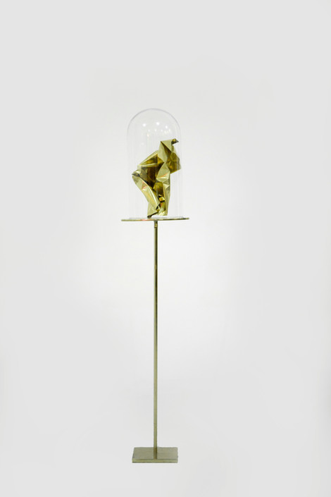 I Will Protect You From Me | 2019 | Brass and Glass