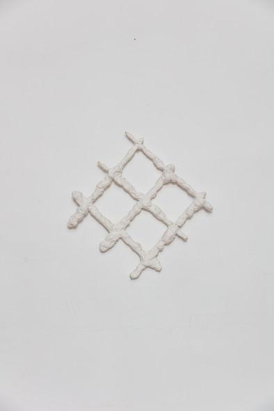 # | 2020 | Plaster on iron | 30 x 32 x 05 cm