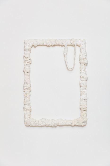 Void Frame | 2020 | Plaster on iron | 60 x 50 cm