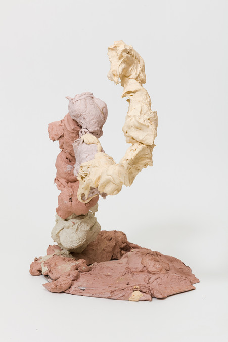 Strongly Dramatic |  Plaster, pigment and iron  | 2020