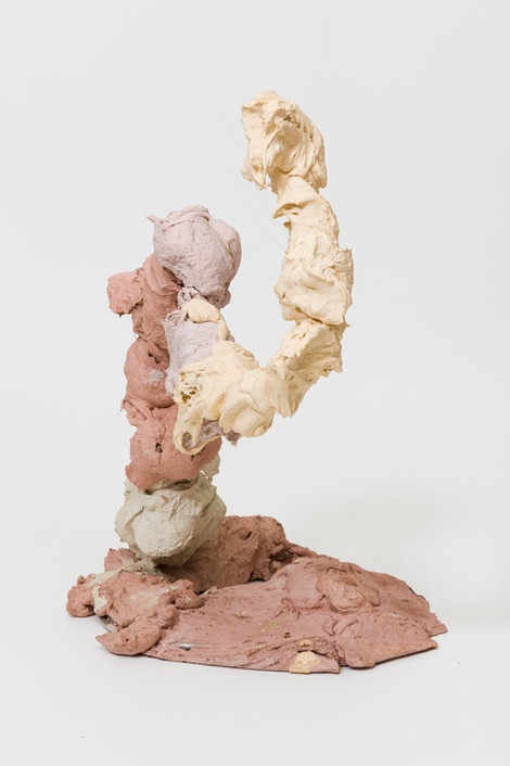 Strongly Dramatic    Plaster, pigment and iron    2020