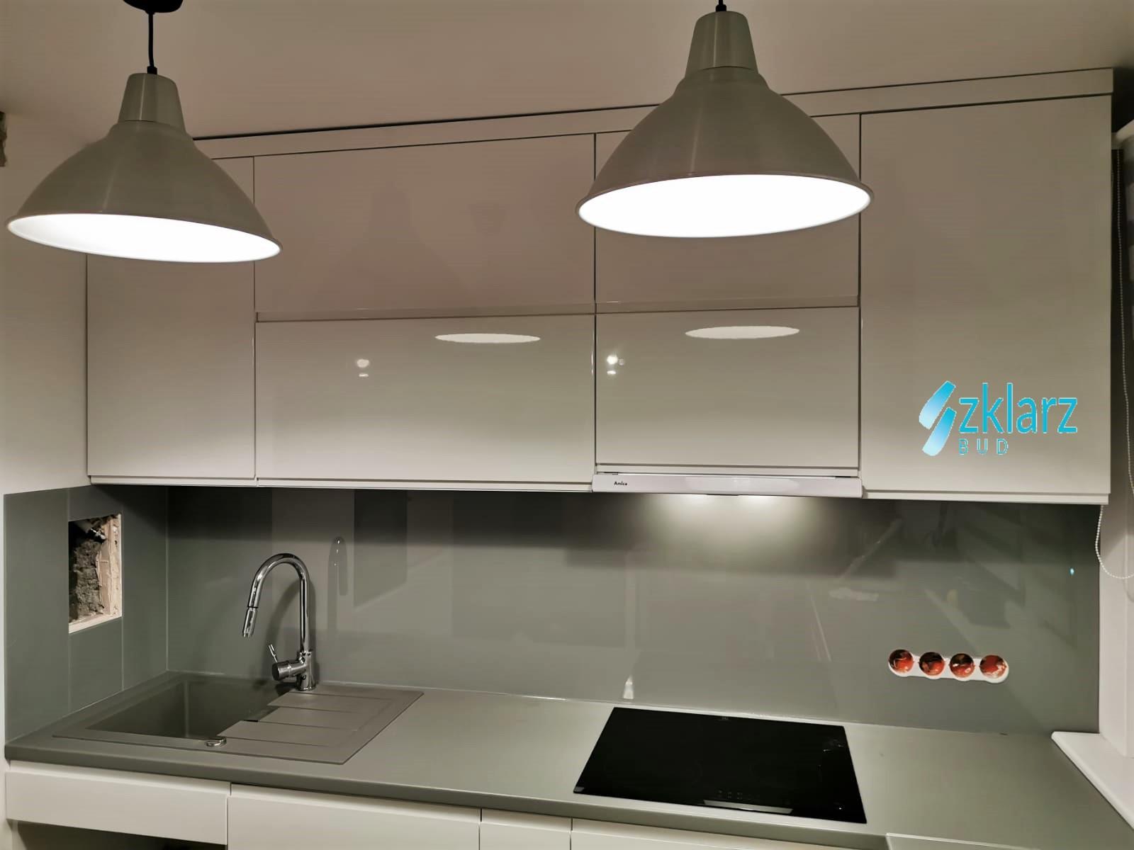 Panel kuchenny lakierowany