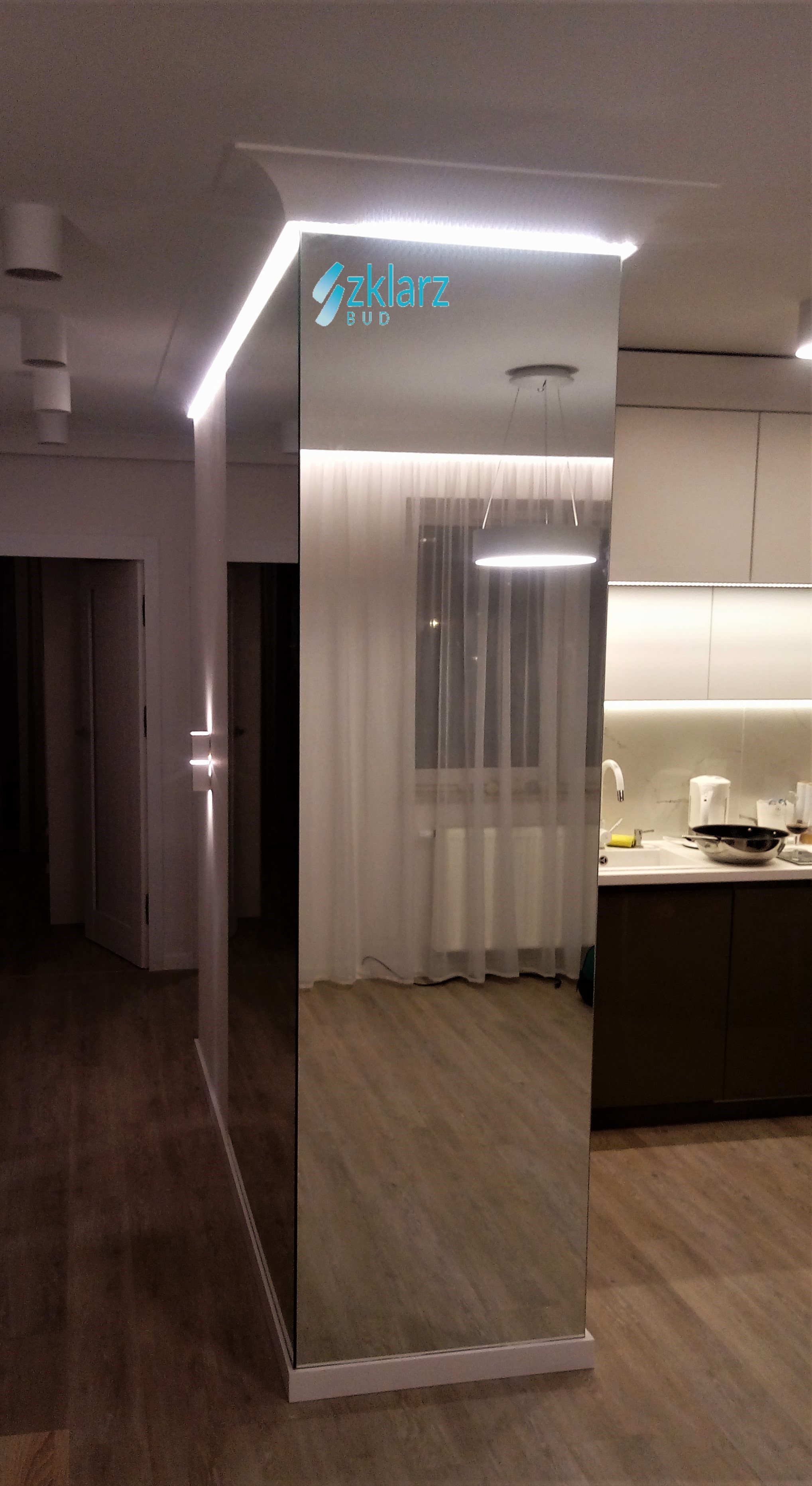 Lustro z podświetleniem LED