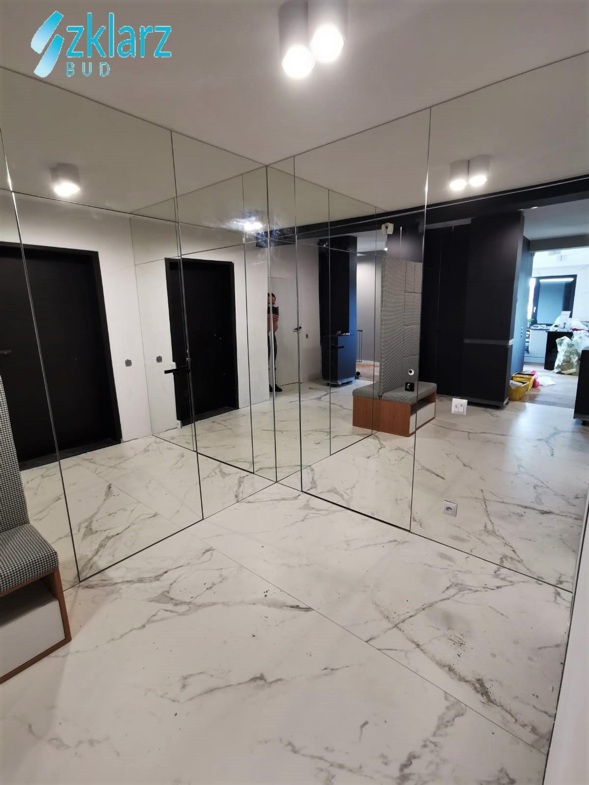 Lustra oraz drzwi lustrzane