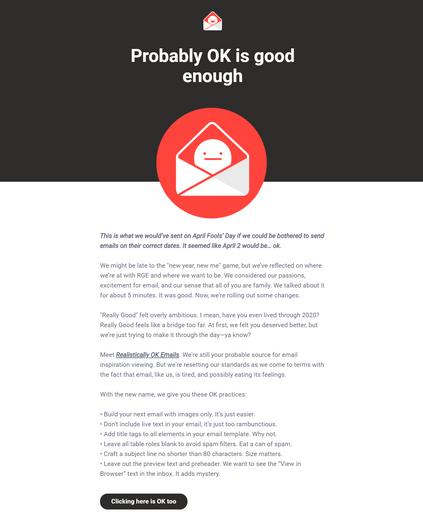 Newsletter Email