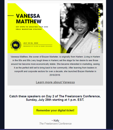 Conference Email