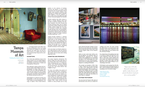 Art Feature: Tampa Museum of Art | Tampa Style Magazine