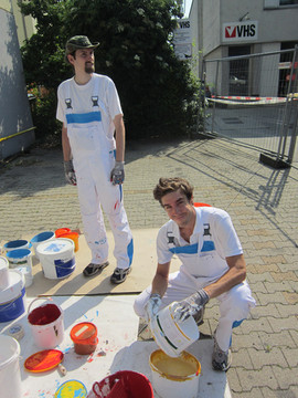 paintback tankstelle team 3
