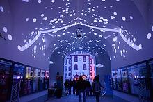 Interactive Videomapping in Meiningen