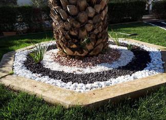 Combinación de piedra decorativa