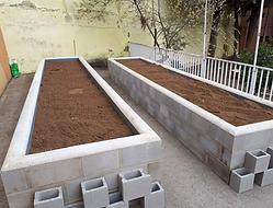Jardineras, tierra vegetal